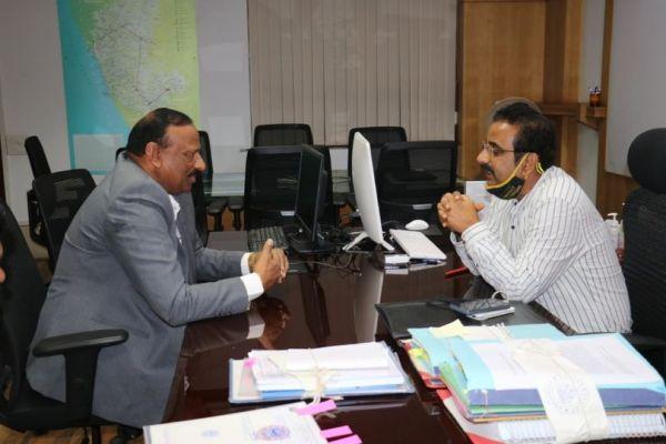 Shri Perikal M Sundar, President, FKCCI met and…