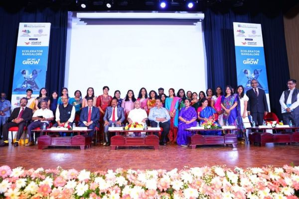 Group Photograph with Women Entrepreneurs at Launch of…